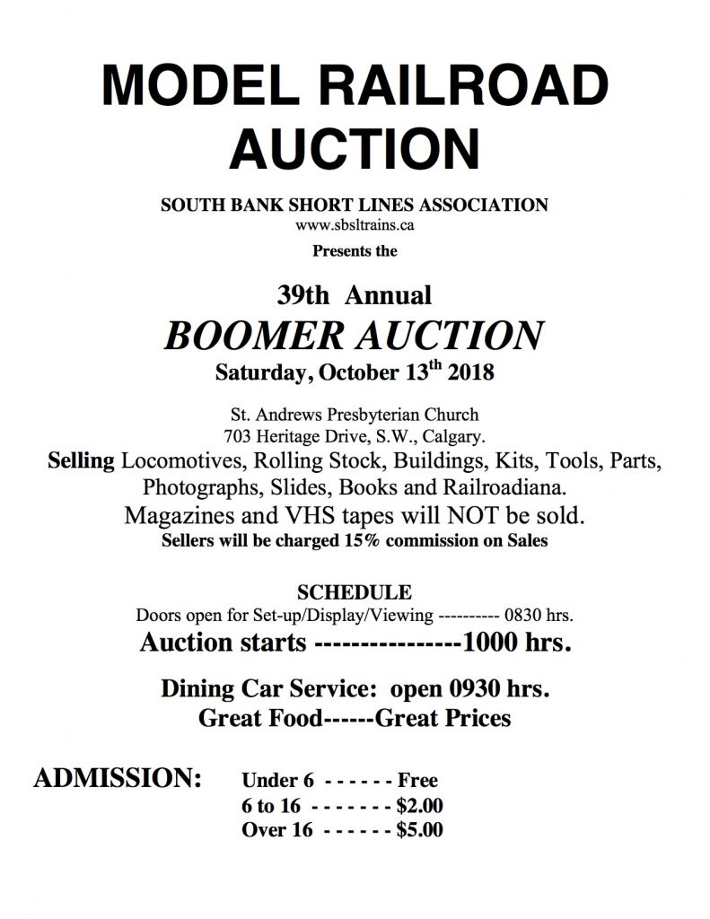 Auction Flyer Front 2018